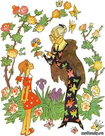 Цветик-Семицветик Смотреть мультфильм онлайн (1948)